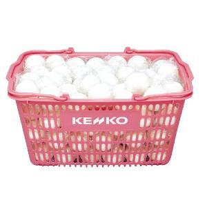ソフトテニス 軟式テニスボール練習球 ケンコー TSSWK スタンダード・白 かご入り 10ダース 送料無料|kokusai-shop
