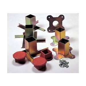 コクサイ KOKUSAI ウルトラベース用埋込金具 スチール製 上金具・下金具各3個 RB1350 1組|kokusai-shop