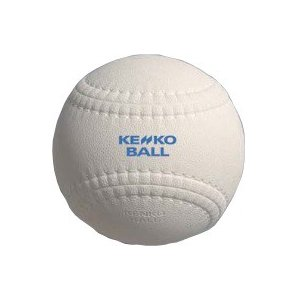 ナガセケンコー KENKO プレイキャッチボールII ハードHP1・ホワイト KPCHII-HP1-W 1ダース入り|kokusai-shop