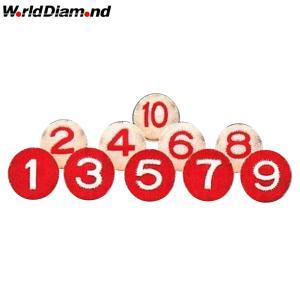ワールドダイヤモンド(World Diamond) ゲートボール 室内用ボール まんまりも10個セット NS-8300S|kokusai-shop