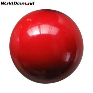ワールドダイヤモンド(World Diamond) ゲートボール 練習用無地ボール 1個|kokusai-shop