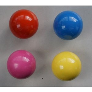 ワールドダイヤモンド(World Diamond) ゲートボール 練習用カラーボール 1個|kokusai-shop