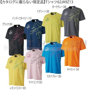 卓球 シャツ ミズノ カタログに載らない限定品 Tシャツ 62JA9Z13 ウェア