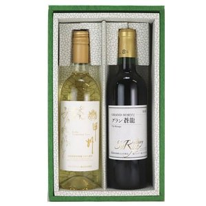 ■ 山梨の地ワイン詰合せ TO-07D■  【アルプスワイン 甲州トラディショナル 750ml(白)...