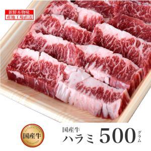 国産牛 ハラミ 500g /鹿児島 国産 薩摩 ハラミ ホルモン 内臓 牛肉 焼肉 贈答 高級 誕生日 結婚記念 記念(kagoshimabeef) komachi-k