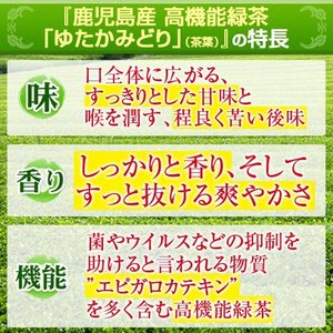 ためしてガッテン エピガロカテキン ゆたかみどり 80g 茶葉タイプ komaki-tea 03