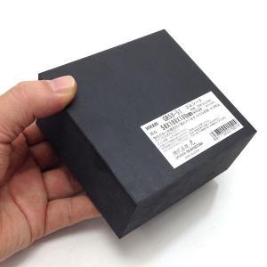 ゴムブロック 100mm×100mm×50mm 黒 GR50-51|komaki5kin