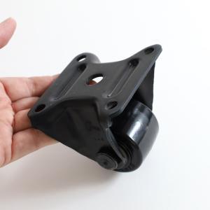 重量キャスター50ミリ 低床式 ナイロン一体車 固定 |komaki5kin