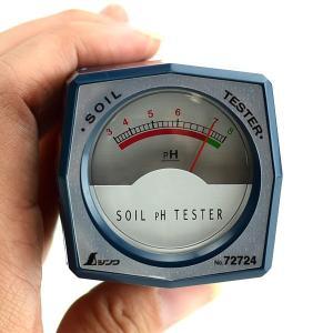 土壌酸度計 PH測定 シンワ 72724の詳細画像1