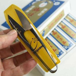 ナス印 にぎり小ばさみ ブロンズ 爪型105mm|komaki5kin