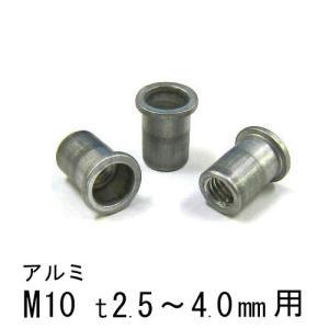 エビナット アルミ Dタイプ M10 500個 NAD1040M エビ|komaki5kin