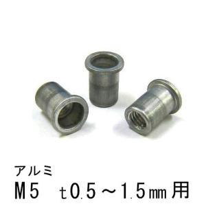 エビナット アルミ Dタイプ M5 1000個 NAD515M エビ|komaki5kin