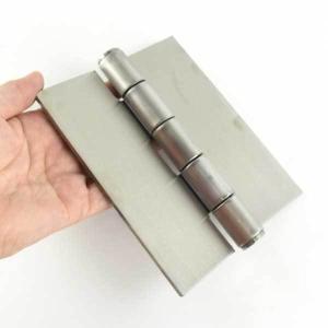 ステンレス リベットヒンジ  溶接丁番150mm S-120-150/2枚単位 komaki5kin