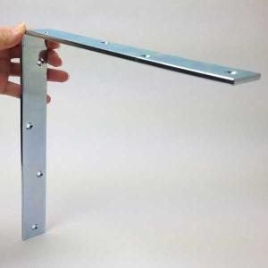 ワイド隅金 アングル 200x200 厚4.5mm ユニクロ YS-14-200|komaki5kin