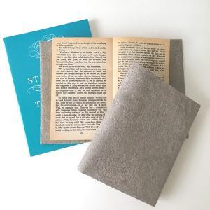 文庫〜A5判 サイズ豊富 :) コンクリートブックカバー Simpler BOOK COVER CONCRETE  文庫本/新書判/四六判/B6判/A5判/手帳/オーダーサイズ ハンドメイド komaki