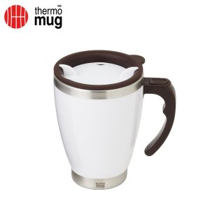thermo mug サーモマグ ラウンドマグ 400ml 3284 ホワイト (sb)【送料無料】 komamono