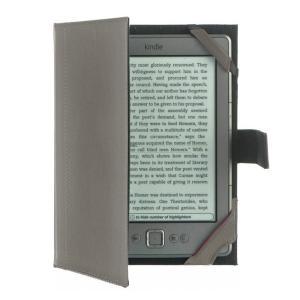 M-Edge Bennett Jacket Kindle Paperwhite/Kobo Touch用高級PUレザーケース ダークグレー (sb)【送料無料】 【処分セール】|komamono