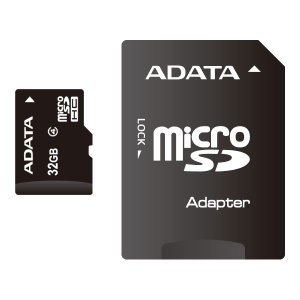 ADATA MicroSDHCカード 32GB Class4【メール便送料無料】