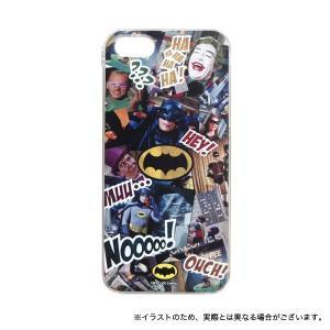 バットマン クラシックTVシリーズ iPhoneSE/iPhone5S/iPhone5対応シェルジャケット 場面柄|komamono