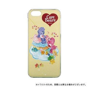 ケアベア iPhoneSE/iPhone5S/iPhone5対応シェルジャケット クリーム|komamono