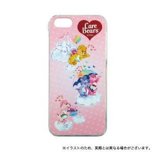 ケアベア iPhoneSE/iPhone5S/iPhone5対応シェルジャケット ピンク|komamono