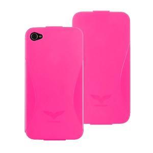 Maclove iPhone4用PCハードケース Challenger case Delice ピンク|komamono