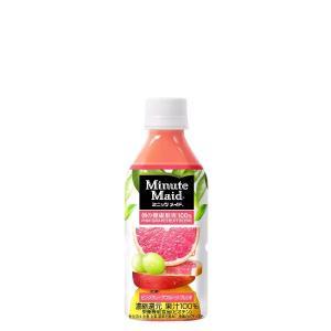 ミニッツメイドピンク・グレープフルーツ・ブレンド 350mlPET ×1ケース (24個) (メーカー直送品)|komamono