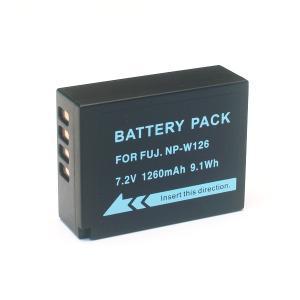 富士フィルム用(FUJIFILM用) デジタルカメラ用 NP-W126互換バッテリー|komamono