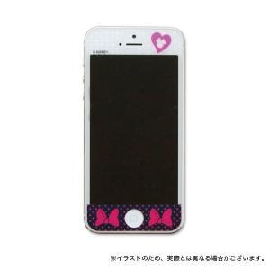 MobiMore iPhoneSE/iPhone5S/iPhone5専用 保護フィルム りぼんブラック|komamono