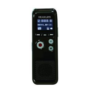 DEARLIFE FMラジオ付き多機能ボイスレコーダー DVR-700(sb)|komamono
