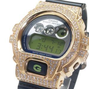 【ワケあり】CASIO カシオ 【G-SHOCK】当店限定デコレーションベゼル仕様  DW-6900SB-GDCL(sb)【送料無料】 ゴールド|komamono