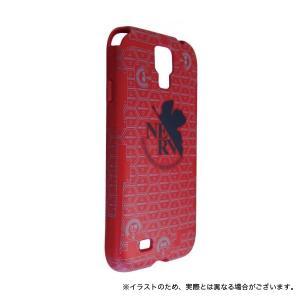 エヴァンゲリヲン新劇場版 GALAXY S4専用キャラクタージャケット レッド komamono