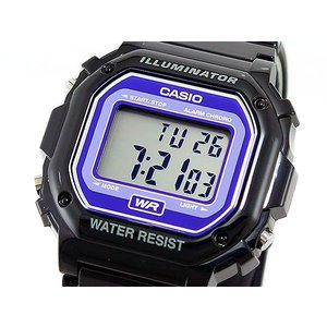 カシオ CASIO スタンダード デジタルクォーツ 腕時計 F108WHC-1B(sb) ブラック|komamono