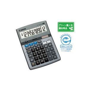 CANON キャノン 千万単位卓上電卓 12桁  HS-1220TUG-SOB|komamono