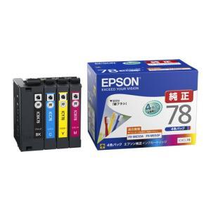 EPSON 純正インク IC78インクカートリッジ 4色セット IC4CL78|komamono