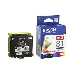 (取り寄せ品)EPSON 純正インク IC81インクカートリッジ カラー ICCL81|komamono