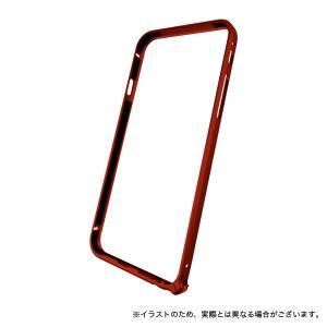 iPhone6s / iPhone6 対応 エアフレーム(アルミ製バンパー) レッド komamono