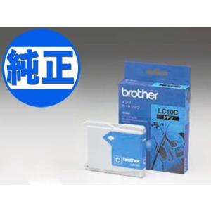 (取り寄せ品)ブラザー工業(Brother) 純正インク LC10インクカートリッジ シアン LC10C|komamono