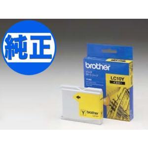 (取り寄せ品)ブラザー工業(Brother) 純正インク LC10インクカートリッジ イエロー LC10Y|komamono