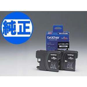 ブラザー工業(Brother) 純正インク LC11インクカートリッジ ブラック2個セット LC11BK-2PK ブラック 2個セット|komamono