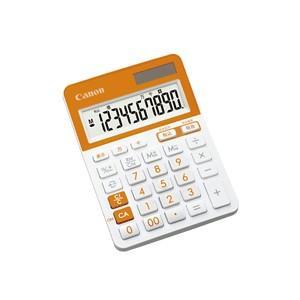 CANON キャノン カラフルミニ卓上電卓 10桁  オレンジ LS-103TUC-ORSOB|komamono