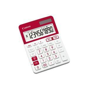 CANON キャノン カラフルミニ卓上電卓 10桁  レッド LS-103TUC-RDSOB|komamono