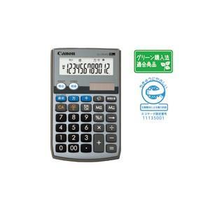 CANON キャノン 手帳タイプ電卓 12桁 LS-12TU2G-SOB|komamono