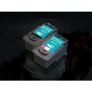 【残量表示対応】【メール便不可】【仕様】 色:ブラック、3色カラー 対応プリンター: / PIXUS...