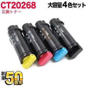 (A4用紙500枚進呈)富士ゼロックス用 CT202681・CT202682・CT202683・CT202684 互換トナー 大容量 4色セット DocuPrint CM310z(メール便不可)(送料無料) komamono