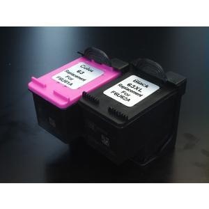 hp HP63XLリサイクルインク 増量タイプ F6U64AA F6U63AA 増量ブラック&増量カラー ENVY 4520 Officejet 4650(送料無料)|komamono