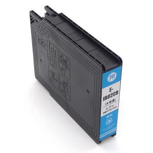 IB02CB エプソン用 IB02 互換インクカートリッジ 顔料 増量 シアン 増量顔料シアン|komamono