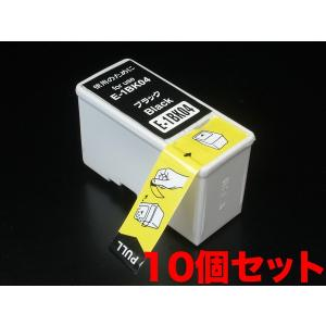 IC04 エプソン用 互換 インクカートリッジ ブラック IC1BK04 10個パック ブラック 10個パック|komamono