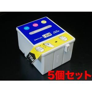 IC04 エプソン用 互換 インクカートリッジ カラー IC3CL04 5個パック カラー 5個パック|komamono