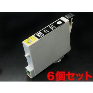 ICBK32 エプソン用 IC32 互換インクカートリッジ ブラック 6個セット ブラック6個セット|komamono